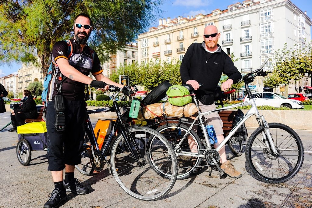 Cycling Portugal and Spain - Derek and Mick
