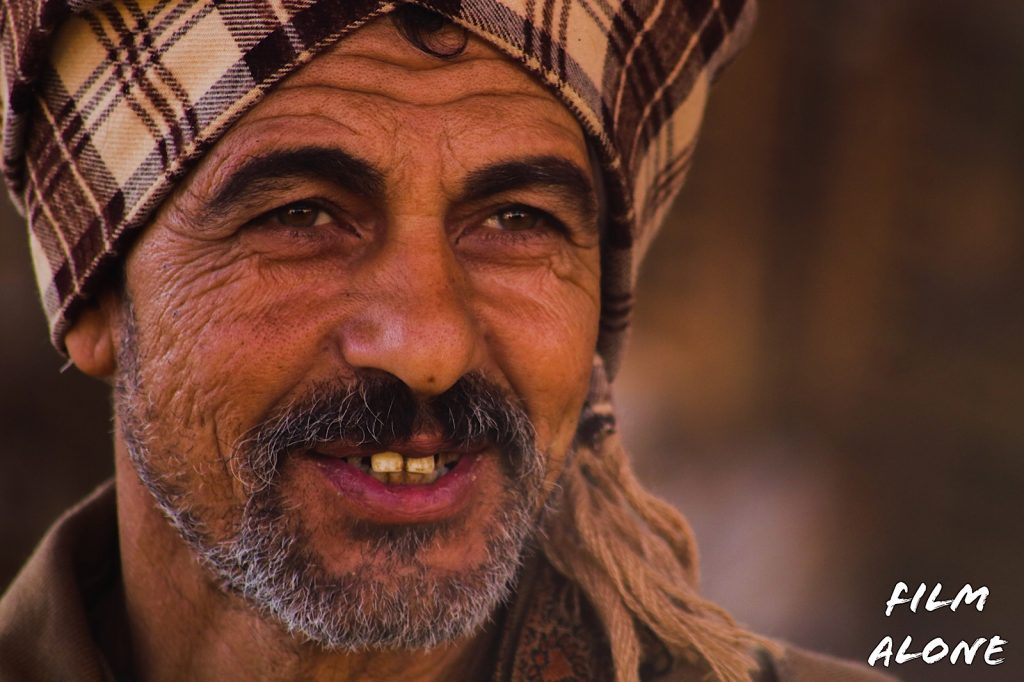 Egyptian farmer.