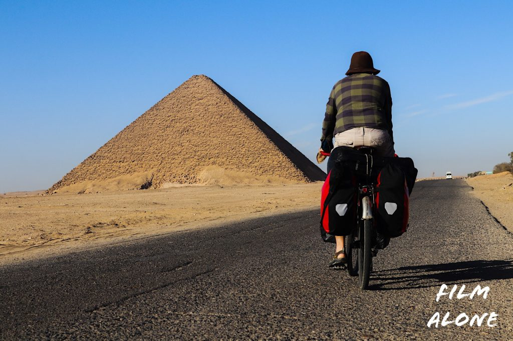 The Red Pyramid of Dahshur, Egypt