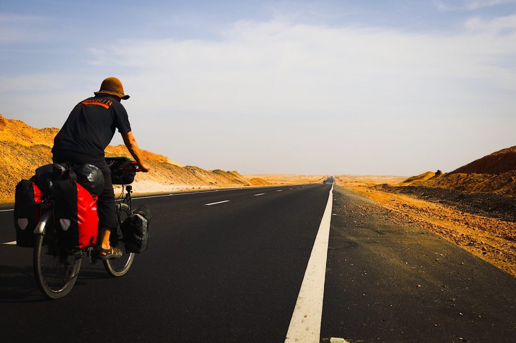 From Edfu, it is 10km to the Great Western Desert Highway, Egypt