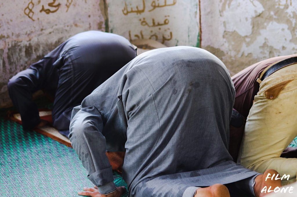Egypt is a Muslim Country. They pray five times a day.
