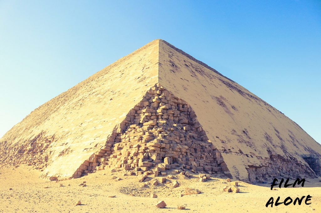 The Bent Pyramid of Dahshur, Egypt