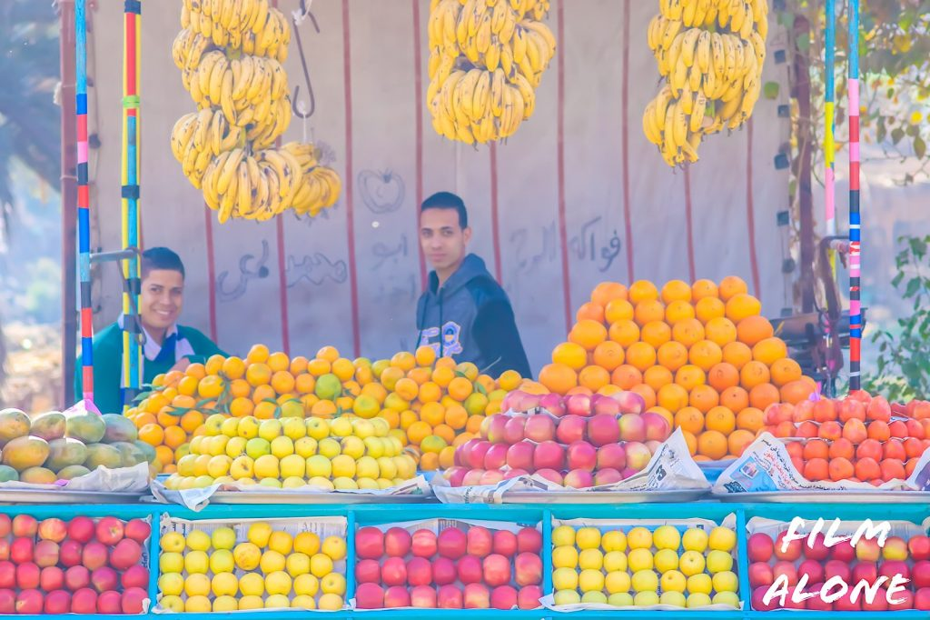 Fruit stall -Dairut.