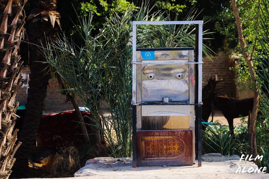 Water dispenser, Egypt